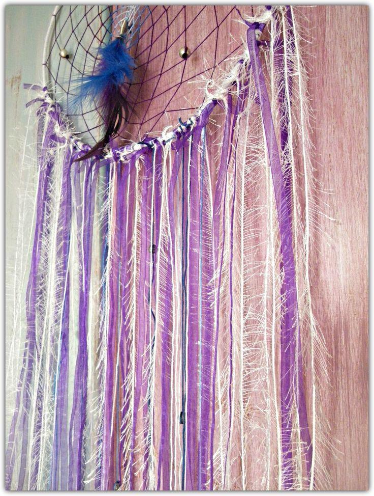 Purple rain dreamcatcher