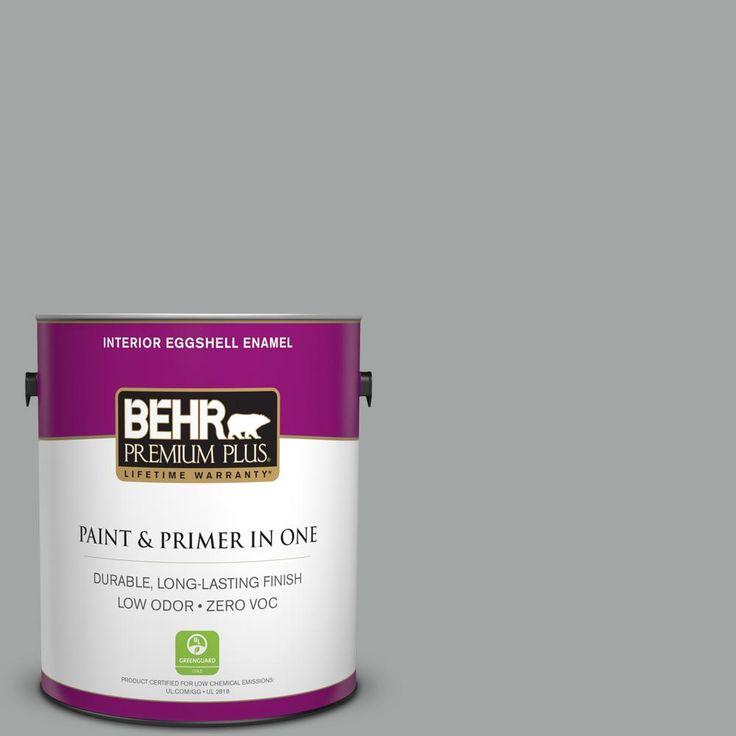BEHR Premium Plus 1 gal. #PPU25-16 Chain Reaction Zero VOC Eggshell Enamel Interior Paint