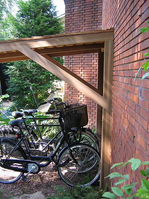 Afdak voor vewende fietsen   Flickr - Photo Sharing!