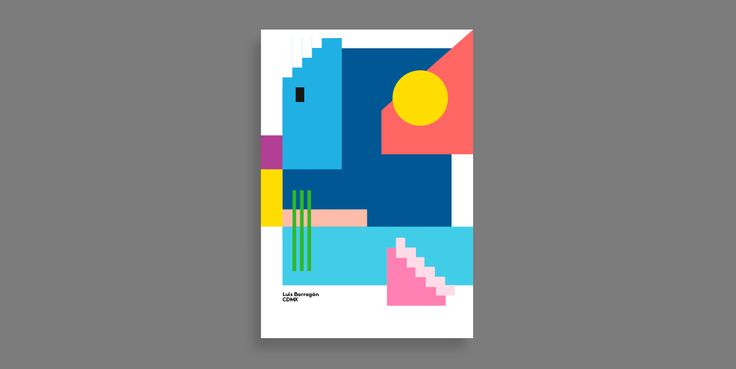 Luís Barragan - Limited edition poster serie - by Ingrid Picanyol