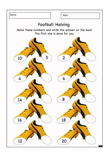 Football, Worksheets and Student-centered resources on Pinterest