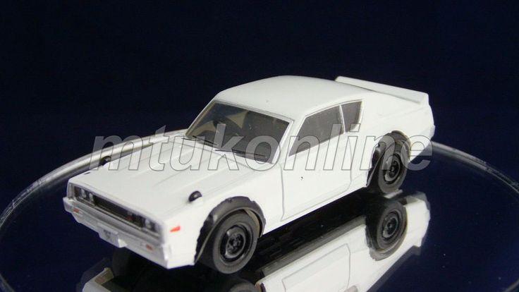 TAKARA SILHOUETTE 7 NISSAN SKYLINE GT-R 1973   C110   1/64   WHITE