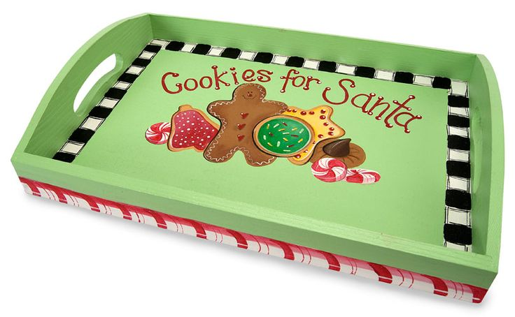 Cookies for Santa Tray project from DecoArt