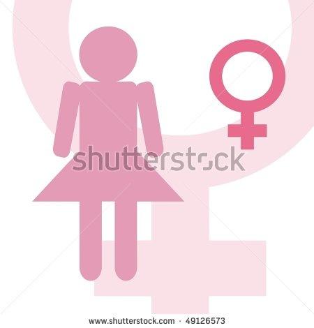 stock photo : female symbol illustration