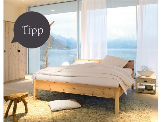 Grüne Erde Bett Alpina. Guter Schlaf ist für mich sehr wichtig und dazu gehört auch ein...