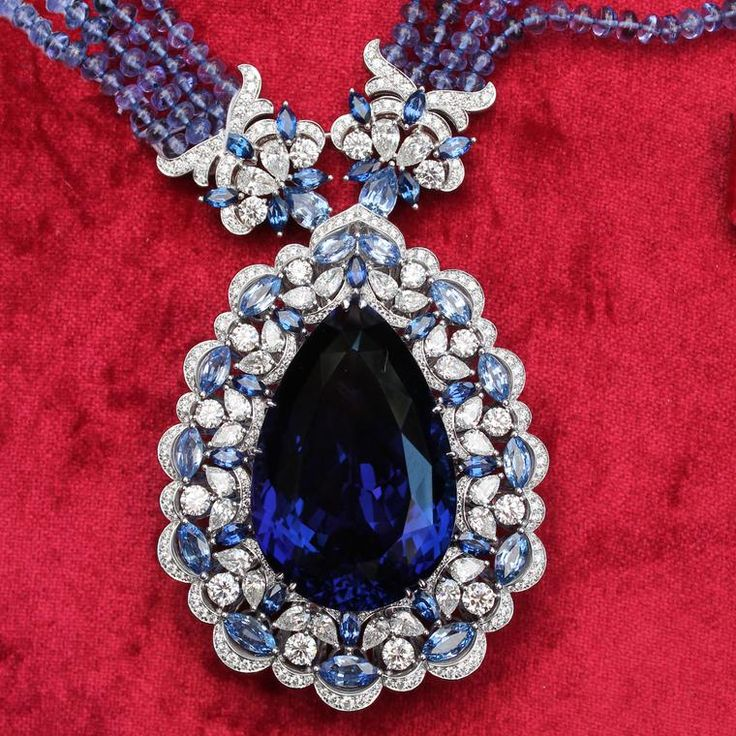 50 years of tanzanite: the ultimate blue gem by Kat Florence