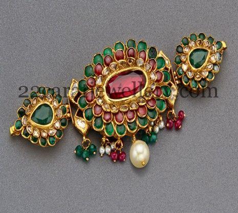 Jewellery Designs: Meena Work Colorful Armband