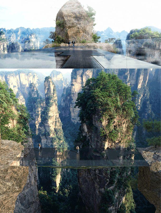 A bridge that will create an experience like no other in Zhangjiajie, China