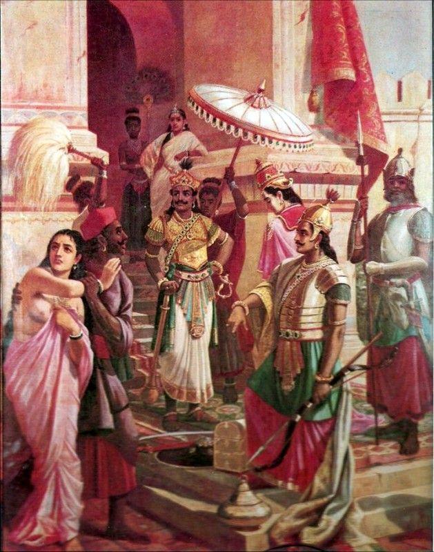 'Victory of Meghanada', Painting by: Raja Ravi Varma