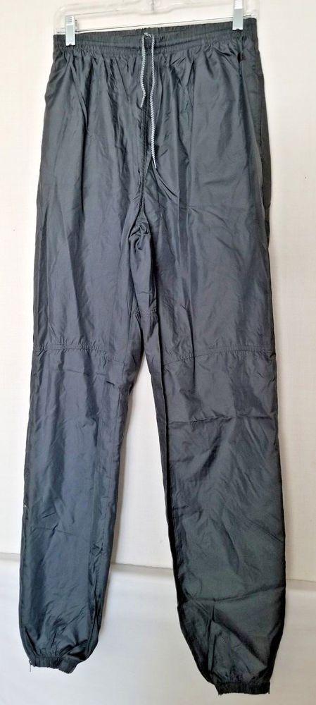 Vintage Nike Women s Track Wind Pants Gray 100% Nylon Unlined Elastic Cuffs  XL  Nike  ActivewearPantsJogger 7bf34cd4df