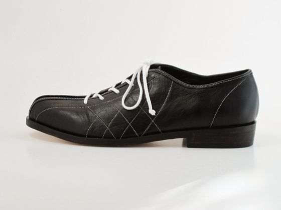 Preston Zly Bowling shoe - based on a classic 1950's college shoe http://prestonzly.bigcartel.com/product/bowling-shoe