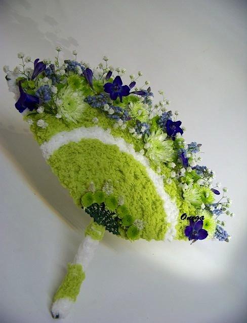 Floral designer, Onega Dahlgren