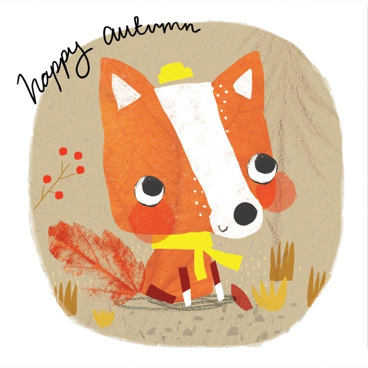 Alex Willmore - autumn fox