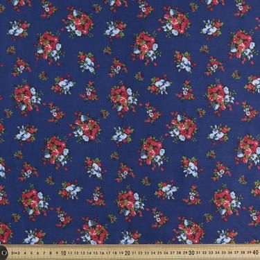 Country Garden Rose Fabric Rose 112 cm