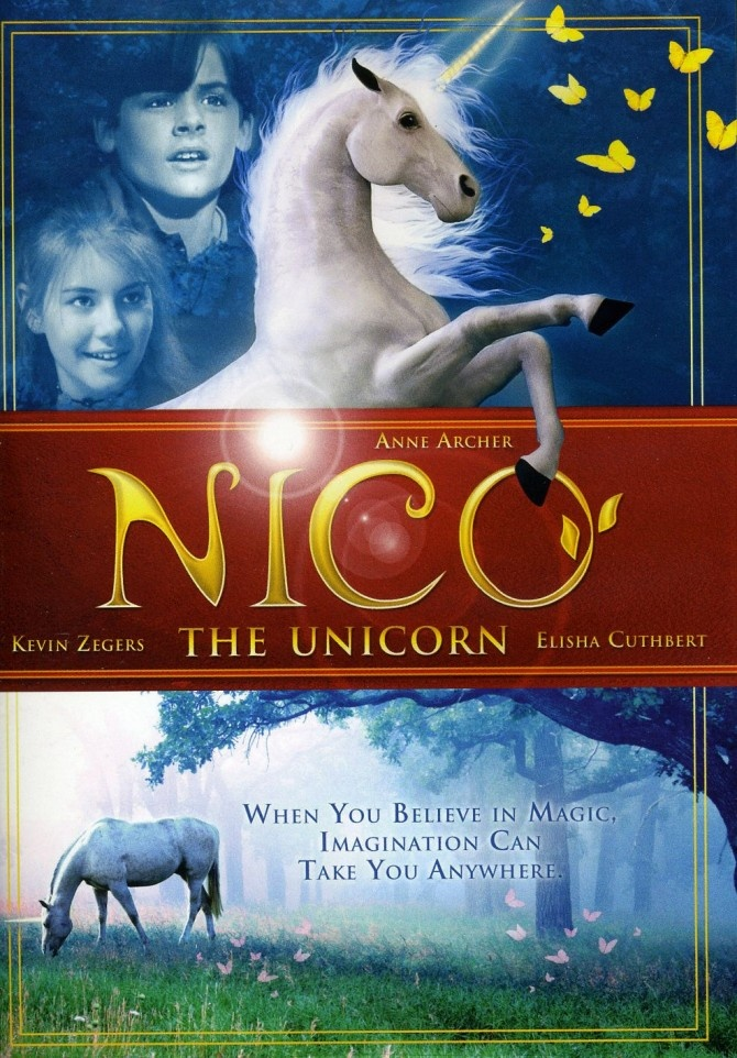 Nico the Unicorn. my fave movie growing up :)>>>>PJO fandom finds this absolutely hilarious