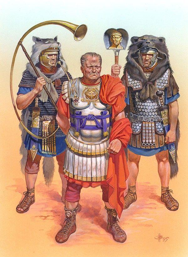 """""""Vespasian"""" Fig. VII Nicholas Subkov (Николай Зубков)"""