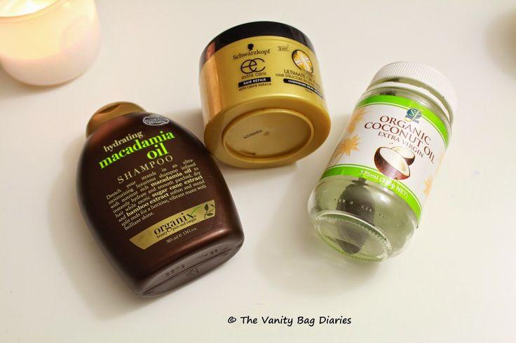 The Vanity Bag Diaries ...: My Hair Care Routine !