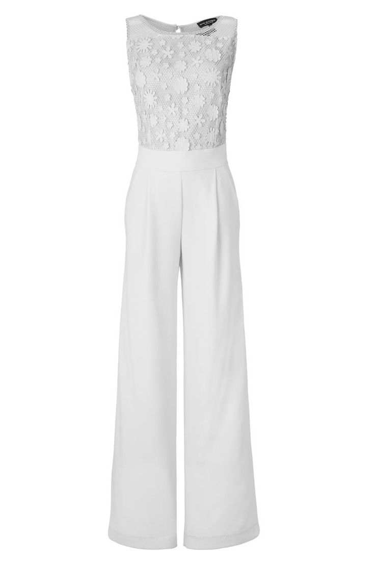 Eleganter Jumpsuit Aurowely in Weiß #CyberQueen #AnaAlcazar