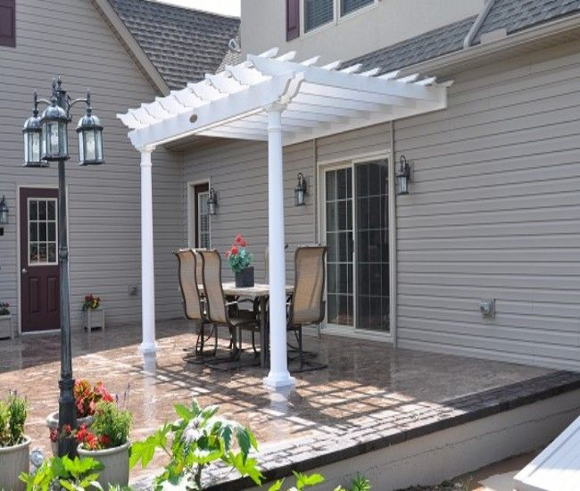 37 Best Attached Pergola / Gazebos Images On Pinterest