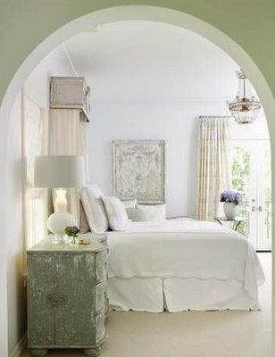 Love archwaysGuest Room, Guest Bedrooms, Pretty Bedroom, Master Bedrooms, White Bedrooms, Farmhouse Style, Cozy Bedrooms, Beautiful Bedrooms, White Room