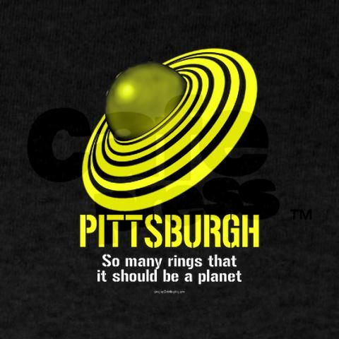 Pittsburgh...So many rings that it should be a planet! LOVE!