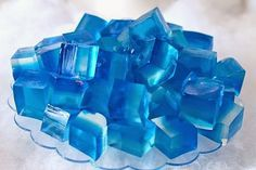 Kantinho da Iara: Gelatina cubos de gelo tema frozen