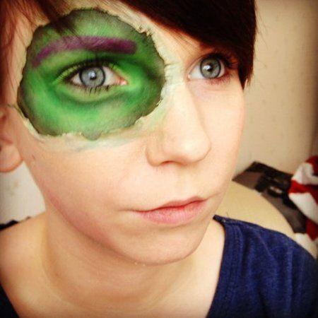 The incredible hulk http://www.makeupbee.com/look.php?look_id=78348