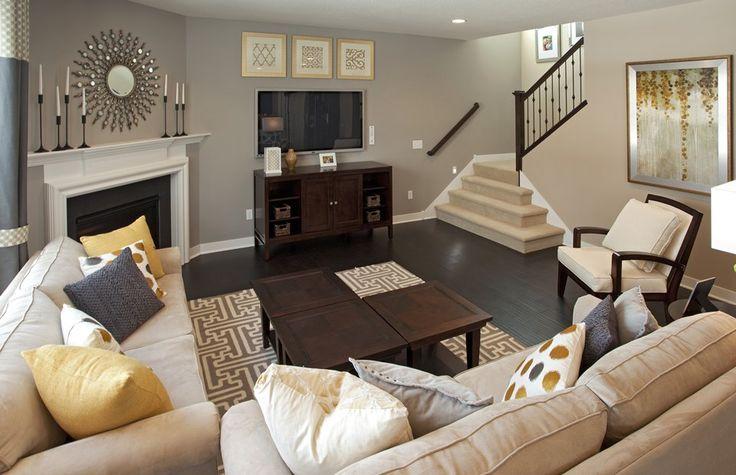 ideas about Fireplace Furniture Arrangement on