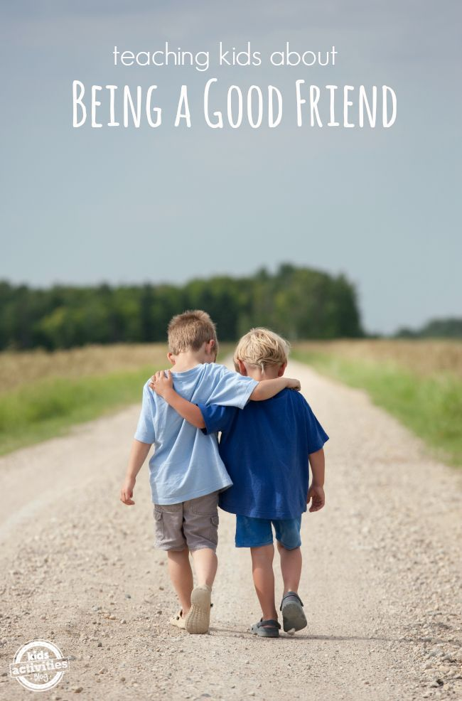Making friends is an important life skill -- here are simple ways to help teach your child about being a good friend.