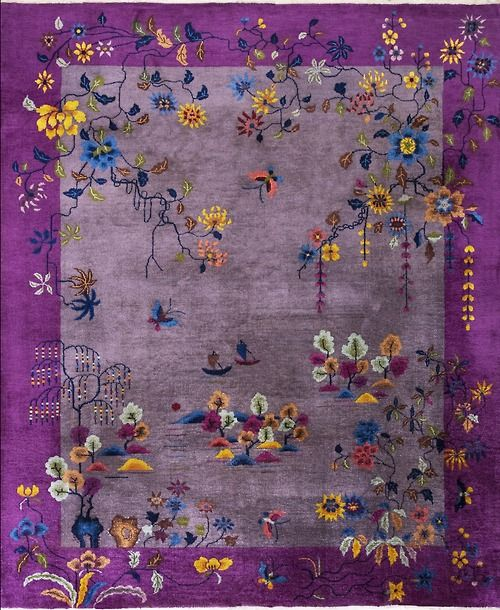 131 Best Images About Antique Chinese Art Deco Rugs On