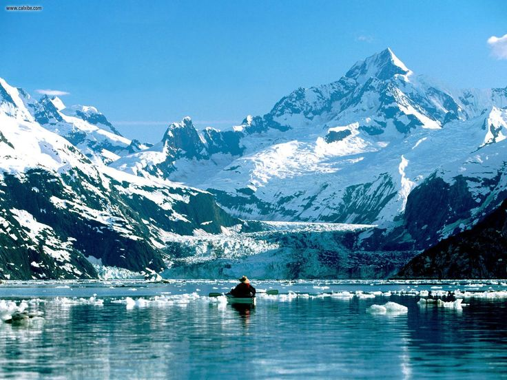 Kayaking in Glacier Bay, Alaska