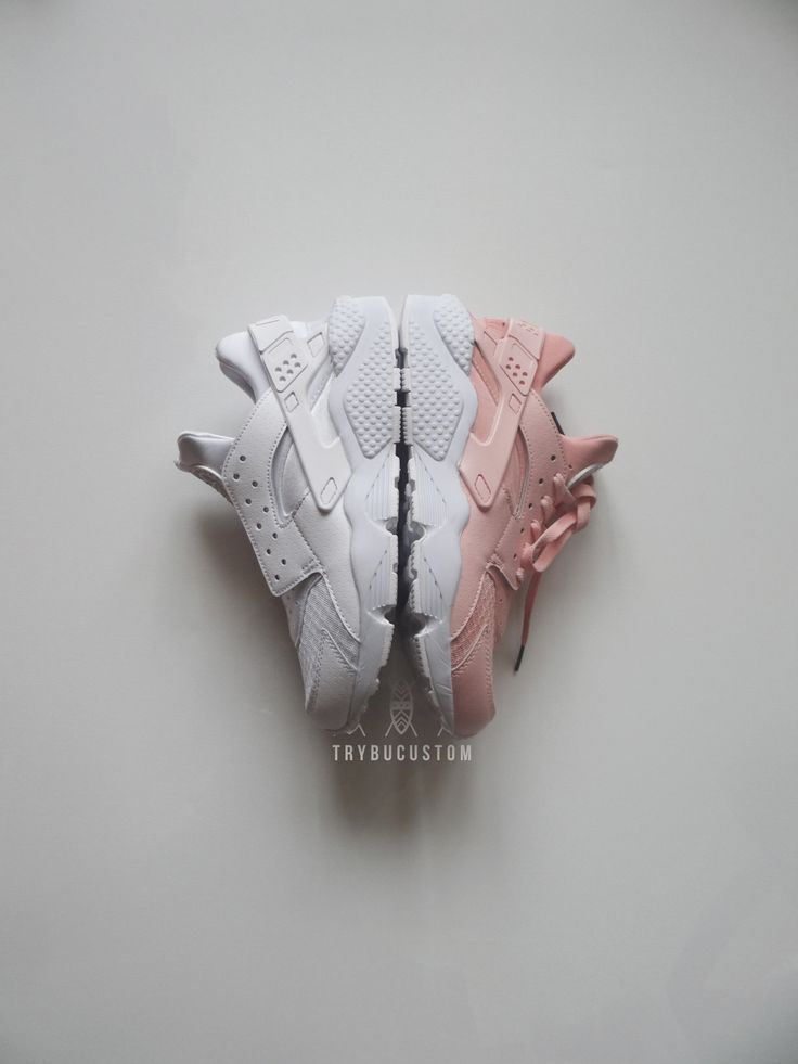 Nike Air Huarache Rosa Chiaro
