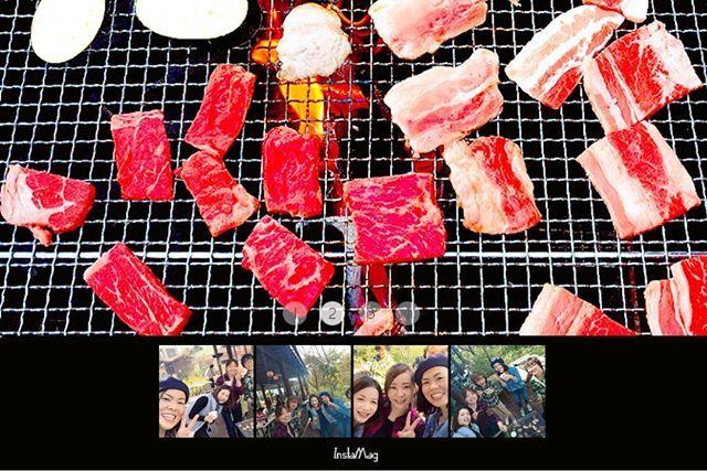 ⋆2017.11.3⋆ Fri ⋆ BBQ🍖😋 ⋆ 肉・肉・肉 めっちゃ食べた🍴 美味しかった〜❤ ⋆ ごちそうさまです🙏💕 ⋆ #バーベキュー #肉 #肉好き #青空レストラン #秋晴れ #お昼ごはん #夜ごはんはいらない #食べっぱなし #食いしん坊 #満腹 #幸せ #岡山 #レスパール藤ヶ鳴 #bbq #niku #lunch #yummy #delicious #outdoor #autumn #happy #smile #thankyou #retrip_gourmet #okayama