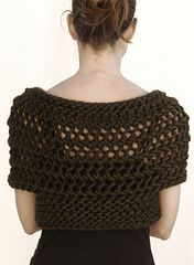 Ravelry: the Openwork Bolero pattern by Karen Clements