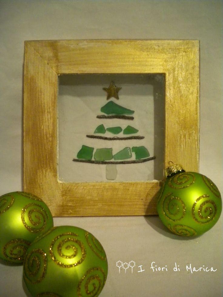 #Handmade Christmas - L'albero di Natale che viene dal mare