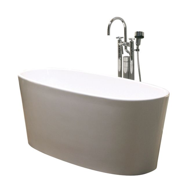 The Best Bathtub Materials Cast Polymer: a combination of finely ground pure calcium carbonate (ground marble), fiber reinforcement and polymer resins. The reason why it works for bathtub design is because it creates a thermo-insulated vessel, which requires less energy to heat, and that will retain hot water longer than any cast iron or acrylic bathtub. Six Eleven Architectural Bathtub Design has been using cast polymer to make their bathtubs for decades.