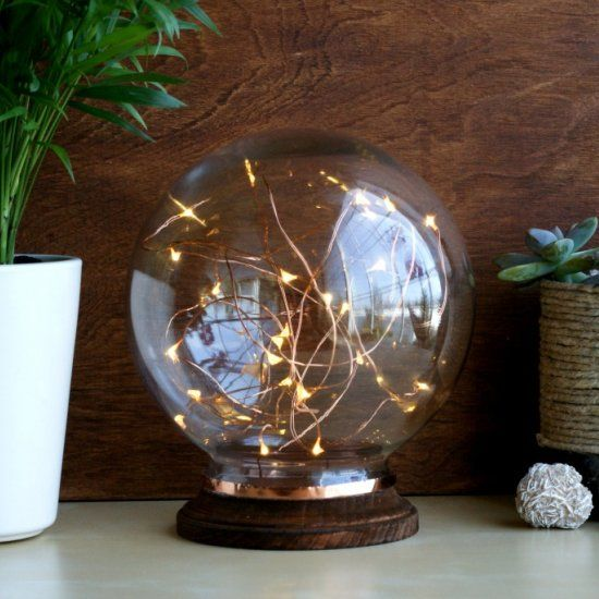 Make this unique mid century modern inspired illuminated globe in only 3 easy steps it · decorative lightslighting