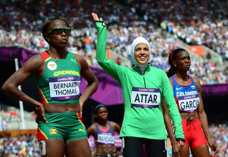 Sarah Attar becomes Saudi Arabia's first female Olympian on the track
