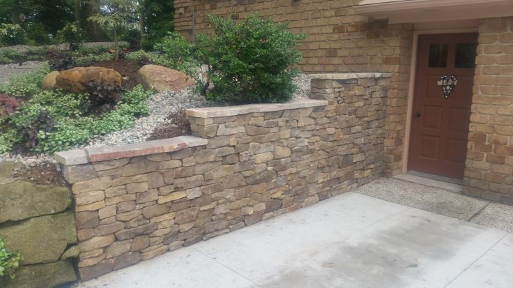 17 best images about beautiful yet strong retaining walls for Landscaping rocks grand rapids