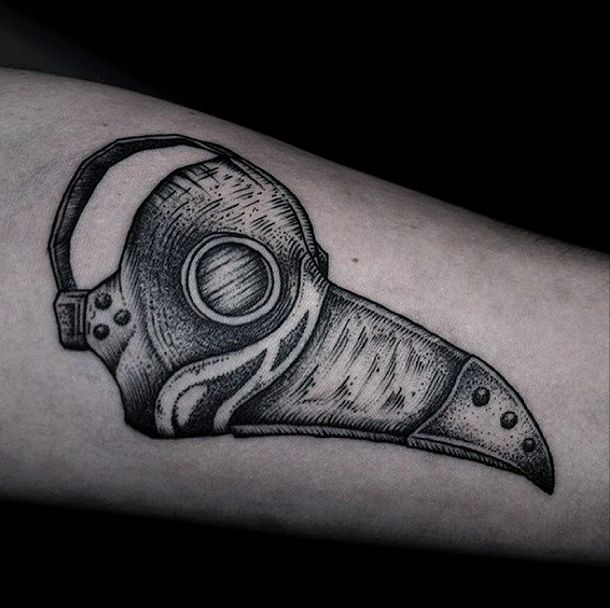 95 best images about tattoos on pinterest for Plague doctor tattoo