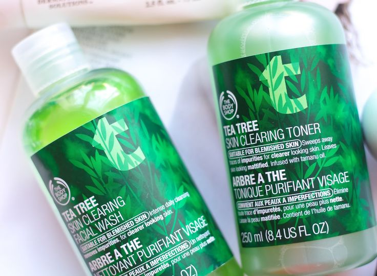 The Body Shop Tea Tree Range