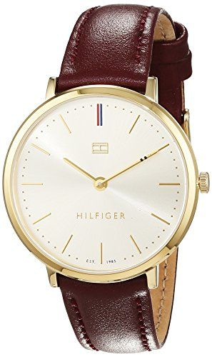 Tommy-Hilfiger-Damen-Armbanduhr-Sophisticated-Sport-Analog-Quarz-Leder-1781692