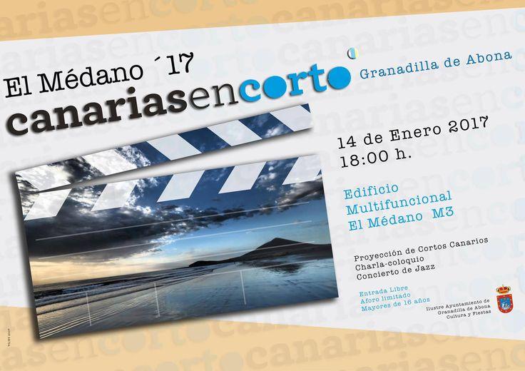 Este sábado, 14 de enero, proyección especial del último catálogo #CanariasenCorto en El Médano (Granadilla de Abona), en Tenerife. Será a partir de las 18 horas, en el Edificio Multifuncional El Médano M3, precedida de una pequeña charla a cargo de Jairo López, de #Digital104FilmDistribution, empresa que se encarga de la distribución del programa por festivales.