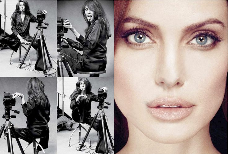Inside Angelina Jolie's Marie Claire Editorial Spread and Interview - theFashionSpot