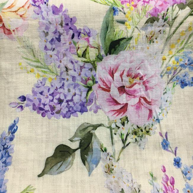 Wisteria, in colour lemon, printed to 100% cotton. www.whatnot.co.za