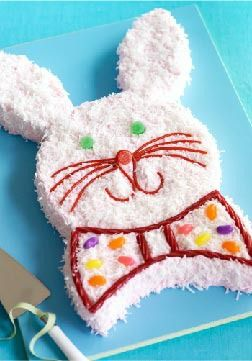 Bunny Cake – Click here for an easy-to-follow video tutorial that'll make it a breeze to put this Easter dessert together.