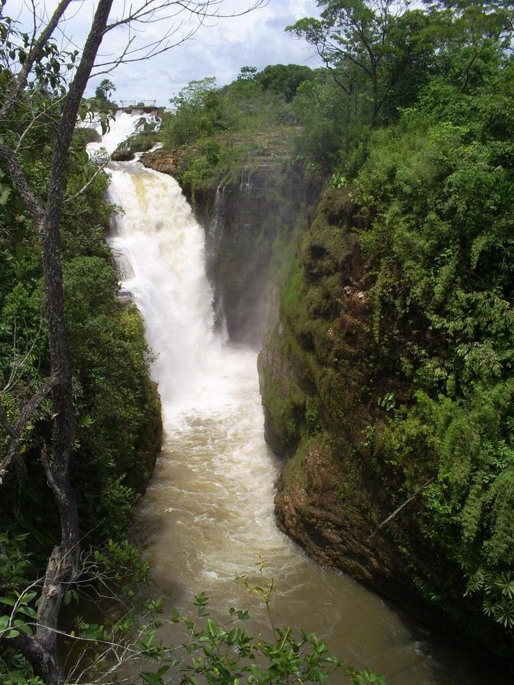 Fumaça waterfall, Chapada Diamantina National Park, Espirito Santo, Brazil