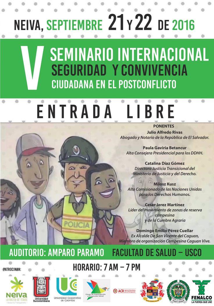 Invitación VI Seminario Internacional