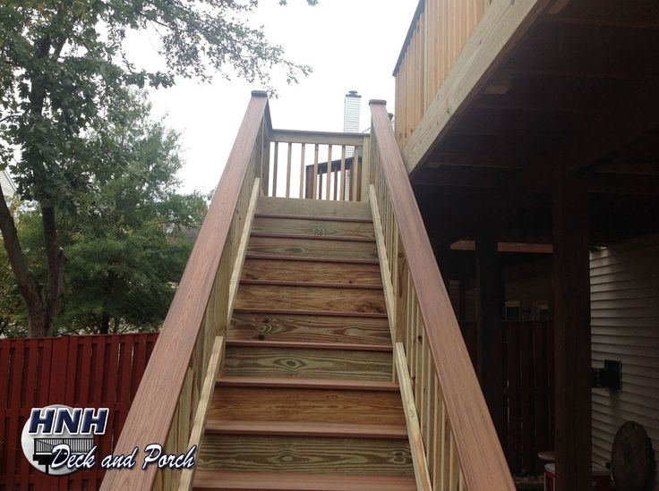 Best 35 Best Hnh Deck Steps Staircases Images On Pinterest 400 x 300