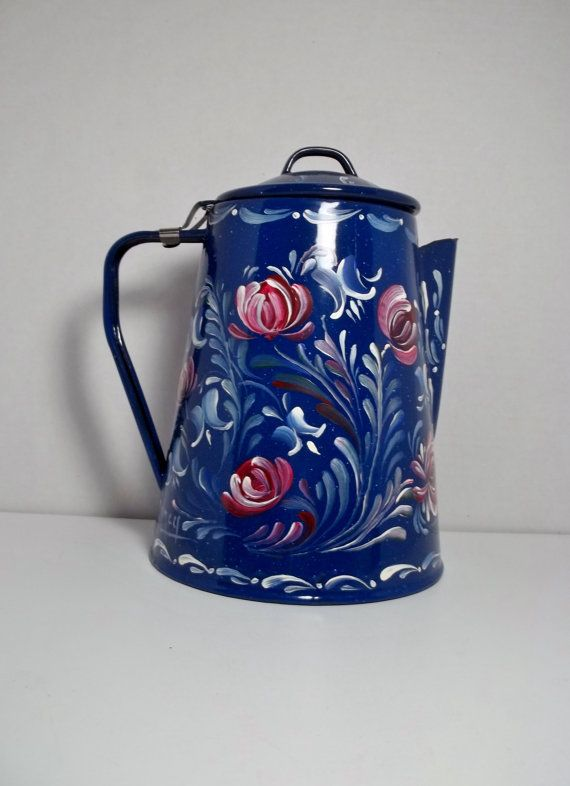 1000 Images About Hand Painted Enamelware On Pinterest